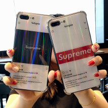 Mobile phone cover / case Newman  Europe and America OPPO Oppor15 fashion brand colorful glass shell Protective shell Tempered glass Shenzhen Dingjia Technology Co., Ltd oppor15
