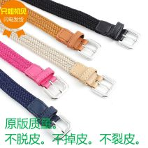Belt / belt / chain other Black, camel, khaki, Navy female Versatile Single loop Youth, youth, middle age 2cm Other / other 100cm