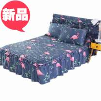 Bed skirt Polypropylene fiber Flamingo, creeping flower language, flower dream, singing in the middle of the night, Xiali manor, ELO cherry blossom, Magnolia Qinzi, cloud blossoming, feather Xiaoxiao Other / other Plants and flowers