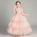 Children's dress female 100cm 110cm 120cm 130cm 140cm 150cm 160cm coparny full dress C321 Class B Polyester 100% Spring of 2019 2 years old, 3 years old, 4 years old, 5 years old, 6 years old, 7 years old, 8 years old, 9 years old, 10 years old, 12 years old, 13 years old, 14 years old