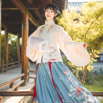 National costume / stage costume Autumn of 2019 XS S M L XL Hualian in Han Dynasty 18-25 years old Cotton 100%