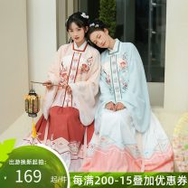 Hanfu 96% and above Spring 2021 XS S M L polyester fiber