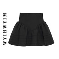 skirt Summer 2021 S,M,L,XL Grey, black, apricot Short skirt commute High waist A-line skirt Solid color Type A 18-24 years old 71% (inclusive) - 80% (inclusive) other Other / other other Splicing Korean version 301g / m ^ 2 (including) - 350g / m ^ 2 (including)