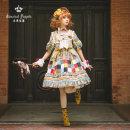 Lolita / soft girl / dress Classic doll Green, purple, blue S [20:00 on April 2], m [20:00 on April 2], l [20:00 on April 2]