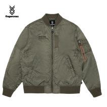 Jacket FINGERCROXX Youth fashion Gyl / grey KHX / Army Green S M L XL standard Other leisure FFXLJM70345XG Polyamide fiber (nylon) 100% Spring 2021
