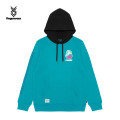 Sweater Youth fashion FINGERCROXX PPX / purple BKX / Black Bll / blue S M L XL XXL other Socket Plush Hood winter Straight cylinder leisure time teenagers tide routine FFXSWS30356XD Other 100% other printing Winter of 2019 Same model in shopping mall (sold online and offline) simple style