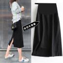 skirt skirt Medium length M,L,XL,XXL,XXXL Other / other black Solid color
