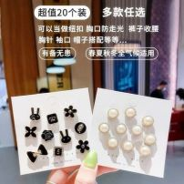 Brooch other RMB 1.00-9.99 Other / other It's a set of 10, a set of 10, a set of 10, a set of 10, a set of 10, a set of 10, a set of 10, a set of 10, Rabbit [10 piece set], bow tie [10 piece set], pearl [10 piece set], water drill [10 piece set] Japan and South Korea