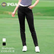 Golf apparel 102007 white Capris, 102007 black Capris XS,S,M,L,XL female PGM trousers