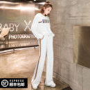 Fashion suit Spring 2021 S/26 M/27 L/28 XL/29 30 31 32 White suit white coat white trousers 25-35 years old Fish / betta DOUYU-W0123SF831C702 Cotton 75% polyethylene terephthalate (polyester) 25% Pure e-commerce (online only)
