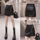 skirt Winter 2020 S M L XL 2XL black Short skirt commute High waist Irregular Solid color 25-29 years old 9306#* More than 95% Biziyao other zipper Korean version Other 100.00% Pure e-commerce (online only)