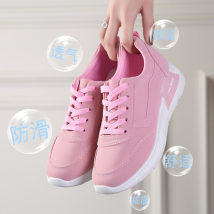 canvas shoe Other / other Low Gang Grey Black Pink 36 37 38 39 40 Spring of 2018 Frenulum Korean version rubber Solid color Youth (18-40 years old) Cross strapping platform Injection process