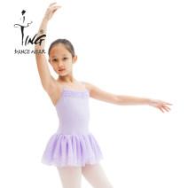 Ballet Costume Chen Ting Average size Pink 12, pink 14, pink XS, cyan 10, cyan 12, cyan 14, cyan XS children D006-9 Ballet Jumpsuit cotton