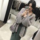 Dress Other / other Black skirt + grey coat, green skirt + grey coat L,XL,XXL,XXXL Korean version Long sleeves Medium length autumn other Solid color corduroy