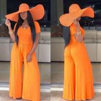 Dress Summer of 2019 Orange S,M,L,XL