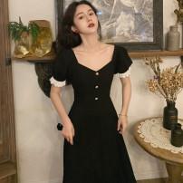 Women's large Summer 2021 black S M L XL Short sleeve Sabado Polyester 100% Pure e-commerce (online only)