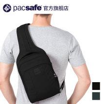 The single shoulder bag Сосновый зеленый черный Pacsafe унисекс Metrosafe LS150 Наплечная сумка Six hundred and ninety другое 7 литров Здесь