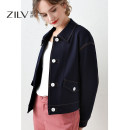 short coat Spring 2021 S M L XL XXL Denim blue Long sleeves have cash less than that is registered in the accounts routine singleton  easy Versatile routine Polo collar Single breasted Solid color 35-39 years old A couple 30% and below Pocket button with open line decoration ZLX03W1014 nylon