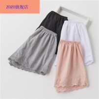 Leggings Summer of 2019 White black gray Pink 2XL M XL L S Thin money shorts 18-24 years old Crnagoose / Xiangna goose other 96% and above Other 100.00%