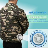 Work uniform Camouflage Other / other 4XL [180-210kg] XL [125-140kg] 3XL [160-180kg] l [110-125kg] 2XL [140-160kg] m [90-110kg] worker fifteen thousand six hundred and forty-five jacket summer go to work Factory workshop cotton Cotton 100% 2018 youth