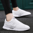 Low top shoes White red black three hundred and ninety-four billion forty-one million four hundred and twenty-four thousand three hundred and forty-four Holt (shoes) Mesh Frenulum Round head Net shoes Netting The trend of youth Sports & Leisure Solid color Thick bottom summer plastic cement G163 PU