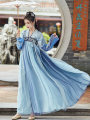 National costume / stage costume Autumn of 2019 Big sleeve shirt, top + three meter skirt, top + three meter skirt + big sleeve shirt, top + six meter skirt, top + six meter skirt + big sleeve shirt, which will be delivered at the end of September S,M,L,XL H-ZXL68