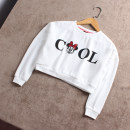 Sweater / sweater Other / other female spring and autumn nothing leisure time Socket routine No model polyester cotton Cartoon animation Polyester 65% cotton 35% other