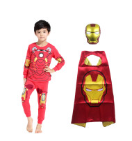 Home suit Other / other 100cm-4, 110cm-5, 120cm-6, 130cm-7, 140cm-8, 145cm-9 spring and autumn male Cotton 93% polyurethane elastic fiber (spandex) 7% 3-5 years old, 5-7 years old, 7-9 years old Keep warm, absorb moisture and sweat, absorb moisture and sweat, stay at home cotton