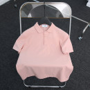 Polo shirt Assistant example Fashion City routine Pink White Lake Blue Black XXL M L XL 3XL standard Other leisure summer Short sleeve ZL202132801 tide routine youth Other 100% Animal design other No iron treatment Embroidery Summer 2021 Same model in shopping mall (sold online and offline)