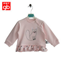 T-shirt honeydew  Goodbaby / good boy female spring and autumn Long sleeves Crew neck Europe and America No model nothing Pure cotton (100% cotton content) other Cotton 100% Sweat absorption