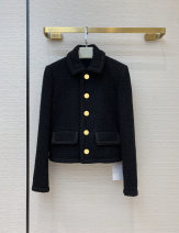 woolen coat Summer 2020 S,M,L black other 30% and below have cash less than that is registered in the accounts Long sleeves Single breasted Solid color BW21633 Splicing
