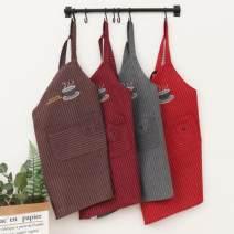 apron Sleeveless apron antifouling Simplicity pure cotton Household cleaning Average size public yes Idyllic