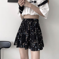 skirt Summer 2021 S M L XL Decor Short skirt commute High waist Pleated skirt Decor Type A 18-24 years old KTFD1101 More than 95% Kotaff polyester fiber Korean version Polyester 100% Pure e-commerce (online only)