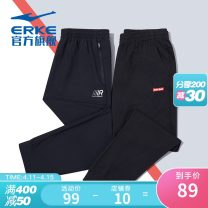 trousers male Erke / hongxingerke M L XL 2XL 3XL 4XL S Summer 2021 Tightness Sports & Leisure Self cultivation Sports Life Series Brand logo design letter cotton Moisture absorption, perspiration and ventilation knitting cotton yes Same model in shopping mall (sold online and offline)