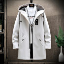 Jacket LPW Youth fashion 8929 (medium long) off white 8929 (medium long) black 8929 (medium long) light gray 8929 (medium long) Navy 8029 beige 8029 black 8581 gray 8581 black 8581 blue 8581 red 927 Pink M L XL XXL XXXL routine Self cultivation Other leisure spring Polyester 100% Long sleeves Hood