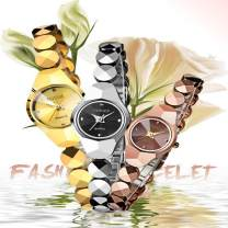 Wristwatch other Quartz movement - solar movement Other / other female Tungsten steel domestic 0ATM Tungsten steel Plastic mirror * 21mm leisure time Butterfly double button ordinary Japan