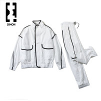 Leisure sports suit Four seasons M,L,XL,2XL 983 black suit, 983 white suit Long sleeves Other / other lovers