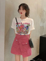 Fashion suit Summer 2021 S M L XL T-shirt + skirt 18-25 years old Dorothy 71% (inclusive) - 80% (inclusive) Other 100% Pure e-commerce (online only)