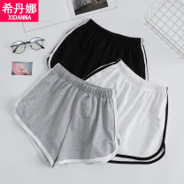 Casual pants M L XL XXL Summer 2021 shorts Wide leg pants Natural waist commute routine 71% (inclusive) - 80% (inclusive) Sidana Cotton blended fabric Korean version Polyester 75% cotton 25% Pure e-commerce (online only)
