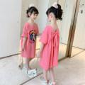Dress female Other / other 110cm,120cm,130cm,140cm,150cm,160cm Other 100% summer Korean version Short sleeve Cartoon animation cotton A-line skirt Class B Three, four, five, six, seven, eight, nine, ten, eleven, twelve, thirteen Chinese Mainland Zhejiang Province Hangzhou