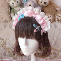 Hair accessories hair hoop 51-100 yuan Other / other Red, black, pink, sax, light purple, [add] the love chocolate in the middle of the bow, [add] and a layer of lace, [this model will be sent out about 3 days after the auction]