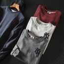 Sweater Youth fashion The fox of Yijia M,L,XL,2XL,3XL Solid color Socket routine Crew neck Straight cylinder leisure time youth Youthful vigor routine