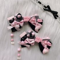 Hair accessories Pair clamp 10-19.99 yuan brand new Japan and South Korea Fresh out of the oven cloth other