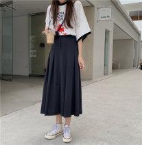 skirt Summer 2021 S,M,L Gray, black commute other other 18-24 years old 31% (inclusive) - 50% (inclusive) other Other / other other Korean version