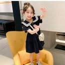 Dress Navy blue, white female Other / other 110cm,120cm,130cm,140cm,150cm,160cm Other 100% summer Korean version other A-line skirt M103 Class B 7, 8, 14, 6, 13, 11, 5, 4, 10, 9, 12 Chinese Mainland