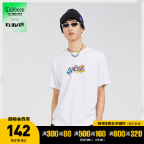 T-shirt Youth fashion Bleach 02 routine 46/165/S 48/170/M 50/175/L 52/180/XL 54/185/XXL 56/190/XXXL CABBEEN / Carbene Short sleeve Crew neck standard Other leisure summer Cotton 100% youth other Summer 2021 cotton other Pure e-commerce (online only) More than 95%