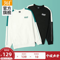 Sportswear / Pullover 361° male Socket Crew neck Spring 2021 Pattern letter Cotton polyester Sports & Leisure keep warm Life Series yes