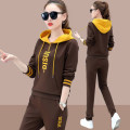 Casual suit Autumn 2020 Red black coffee M L XL XXL XXXL XXXXL 18-25 years old VBKR43993 Qiu Yifu Other polyester 95% 5% Pure e-commerce (online only)