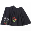 skirt Summer of 2019 M, L Black 1, Navy, crimson Mid length dress commute Natural waist A-line skirt Solid color Type A 18-24 years old 31% (inclusive) - 50% (inclusive) other Allie Aixi other literature