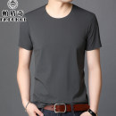 T-shirt Fashion City Grey black green blue skin red thin 165/M 170/L 175/XL 180/XXL 185/XXXL 190/XXXXL Padunqi Short sleeve Crew neck easy daily summer AD8302 Elastic polyamide fiber (4.75% polyurethane) middle age routine Basic public other Summer of 2019 Solid color other nylon other